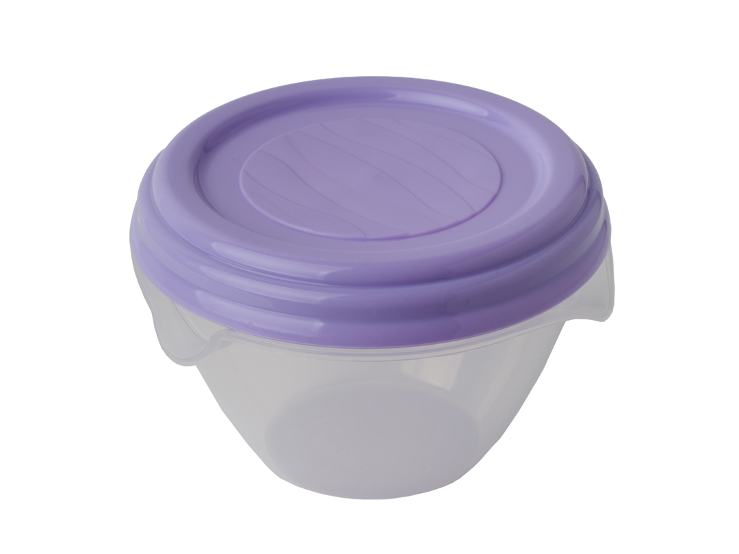 Container with Lid 0.5 l (nonspillable), Wave Series